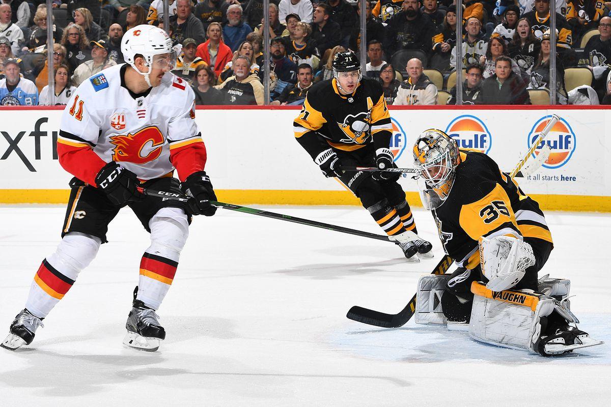 Calgary Flames v Pittsburgh Penguins
