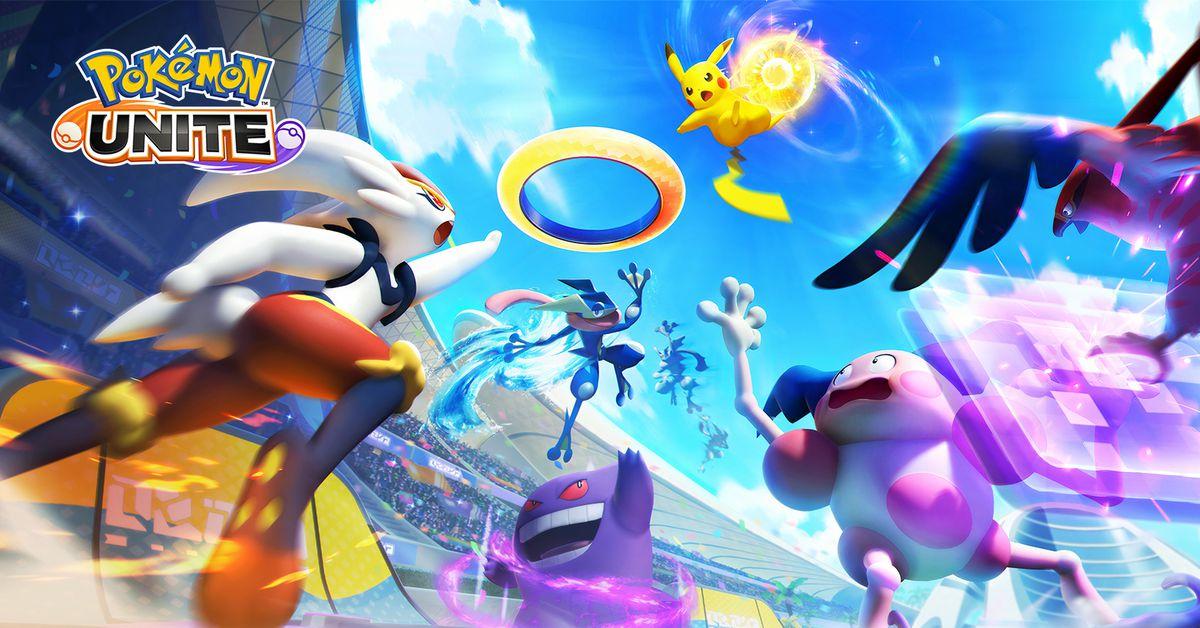 Pokémon Unite release set for summer on Nintendo Switch, Android, iOS - Polygon