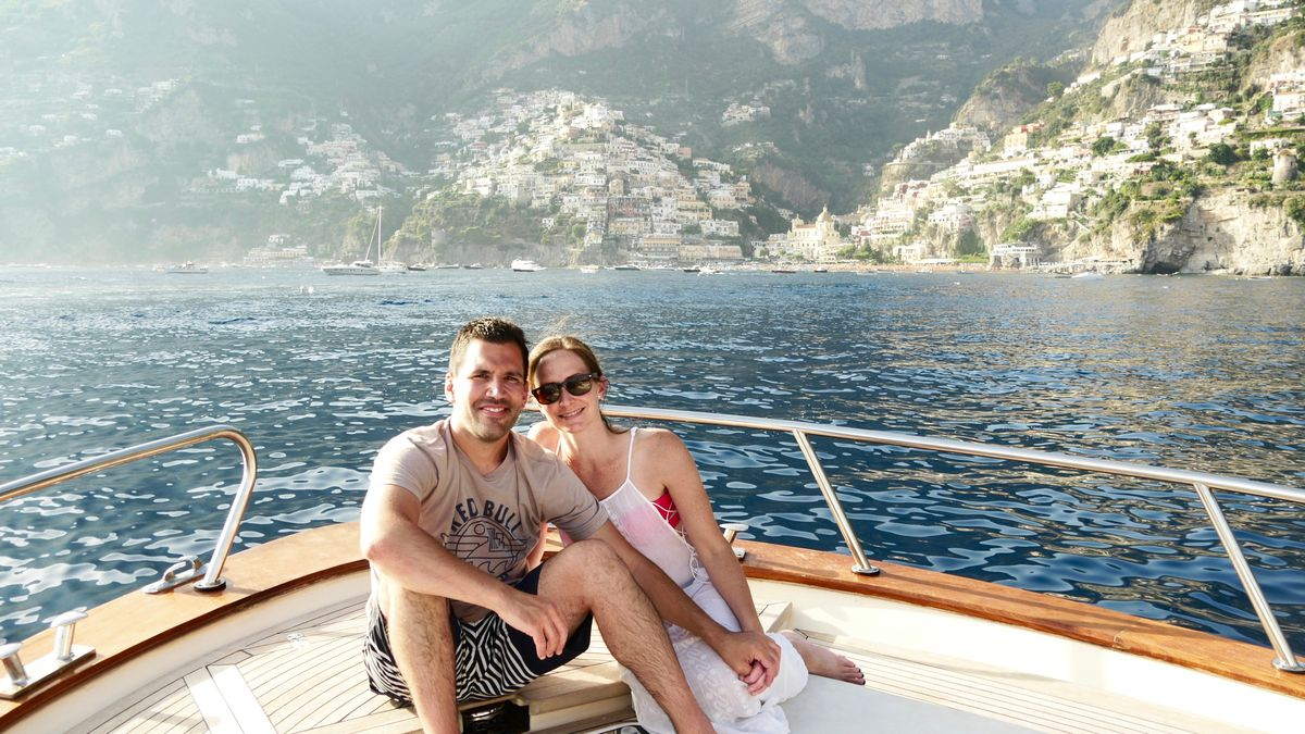 Pat and Amy Tomasulo visit Positano in Southern Italy i 2016. | Provided Photo