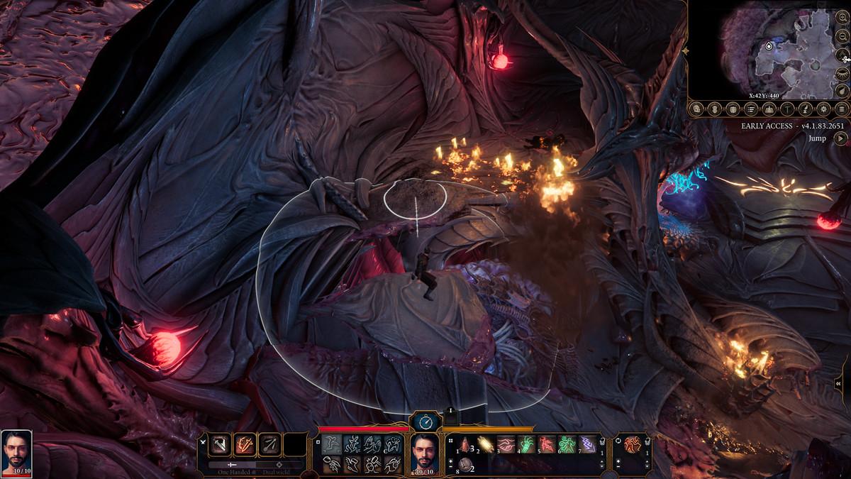 Jumping in Baldur's Gate 3