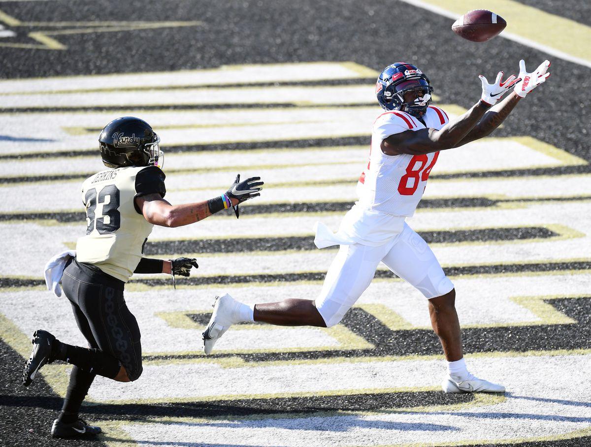 NCAA Football: Mississippi at Vanderbilt