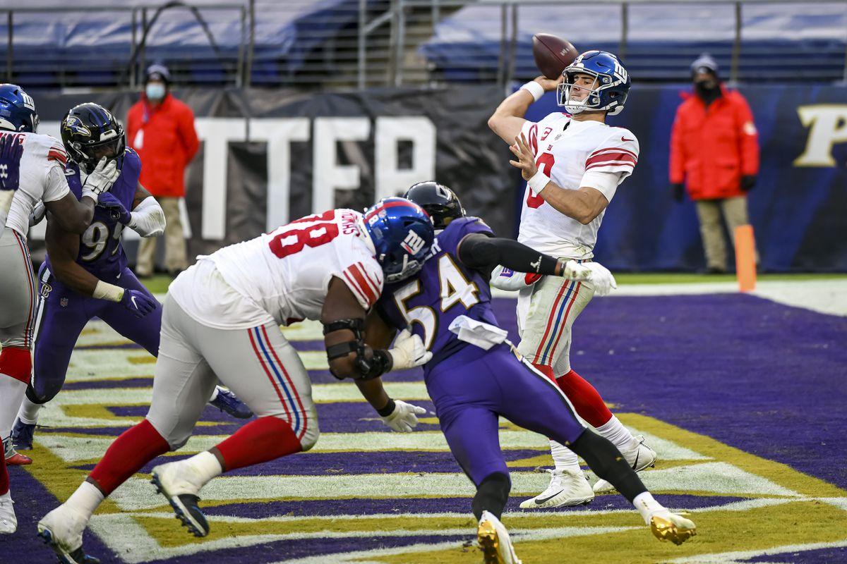 NFL: DEC 27 Giants at Ravens