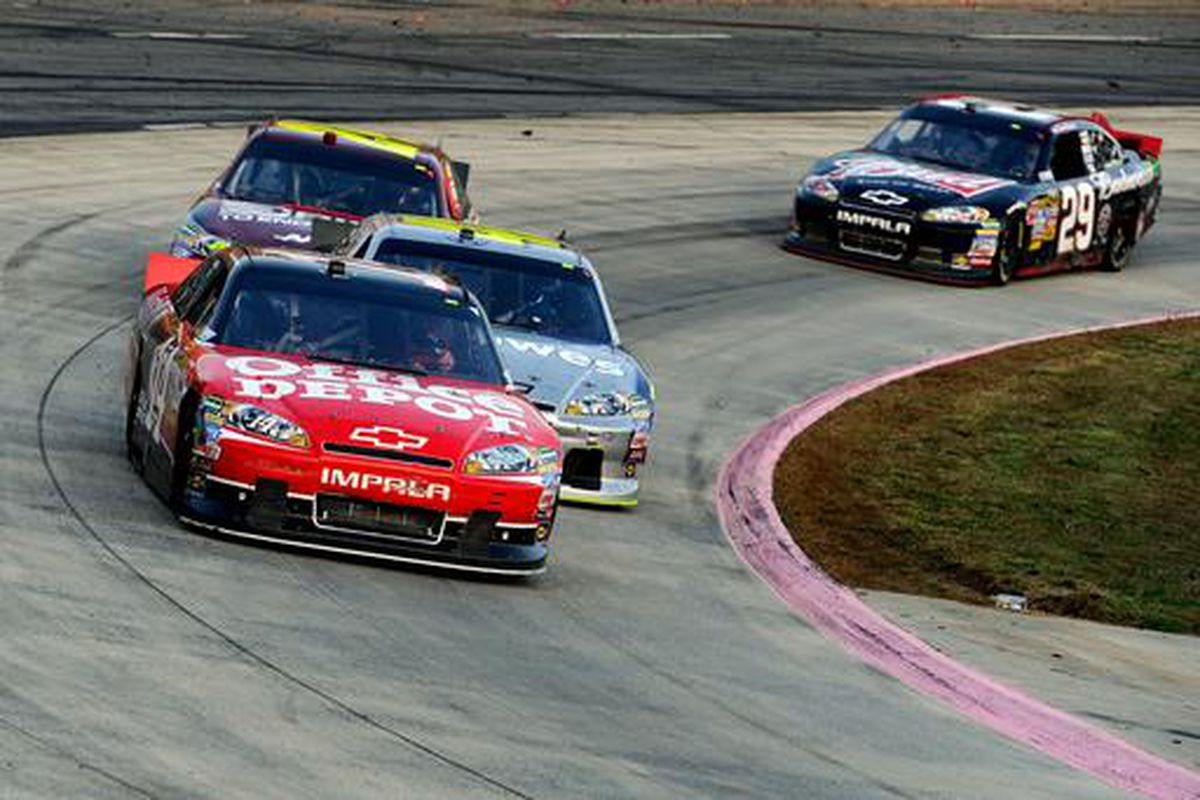 Sprint Cup Chase race at Martinsville Speedway on Sunday
