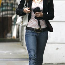 Wearing UGG boots and a going-out top on May 17th, 2007.