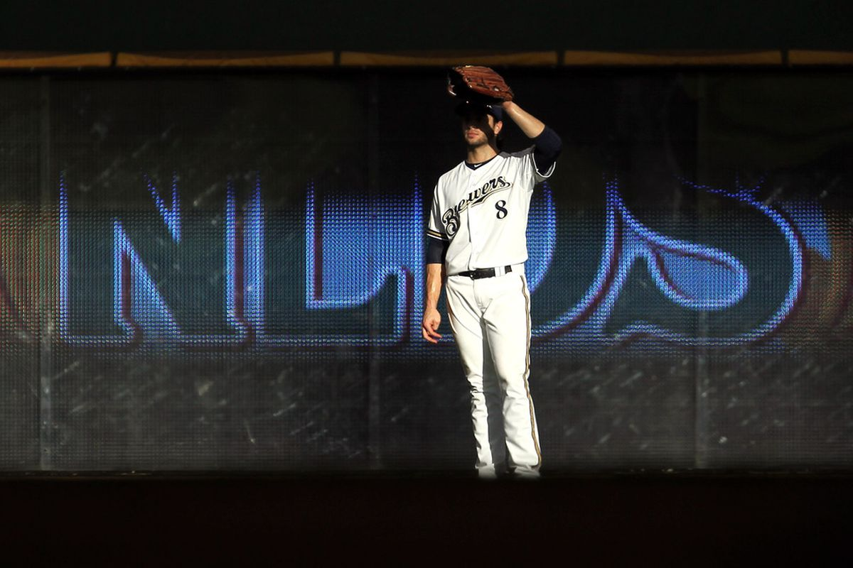 Ryan Braun's ability to play left field is questioned at times, but he's clearly better out there than he was at third base.