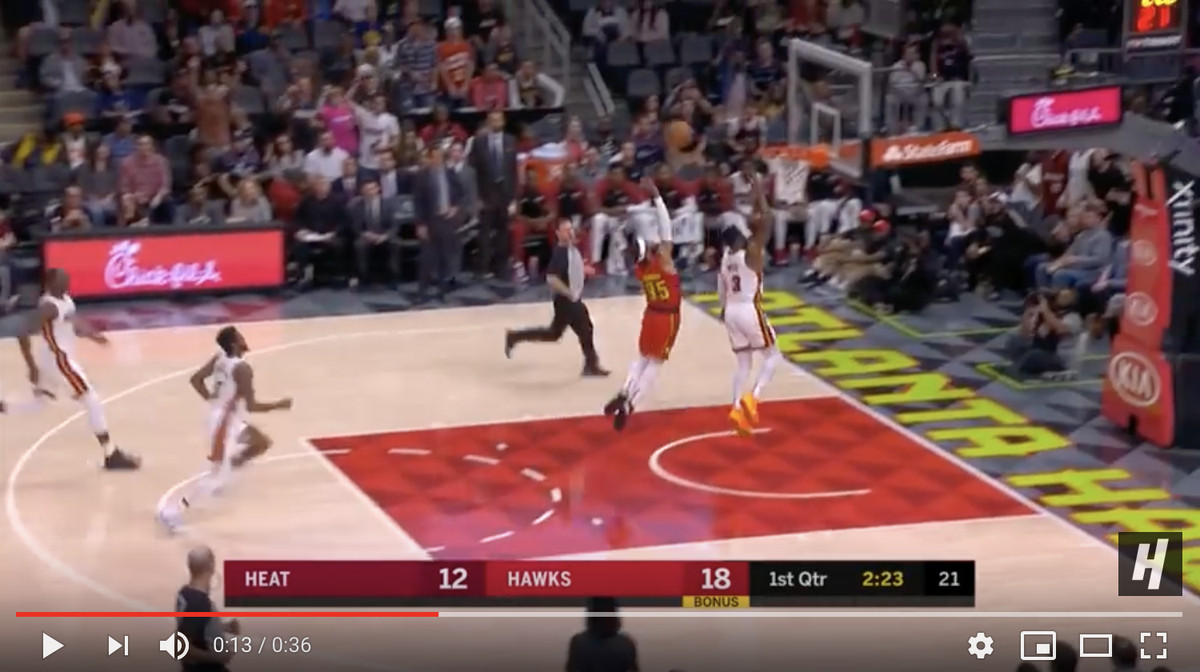 087d04049cd Total  The Dwyane Wade alley-oop to Derrick Jones Jr. dunk was 150 percent  perfect