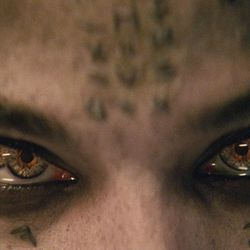 """Sofia Boutella as Ahmanet and Tom Cruise as Nick Morton in """"The Mummy."""""""