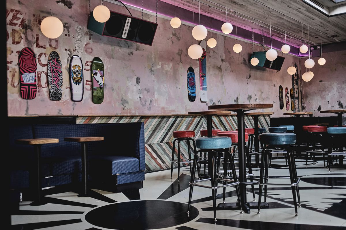 The Team Behind Poppin Nine Year Old South Williamsburg Bar Woods Has Opened Another Indoor Outdoor In Area This Time With Way More Color