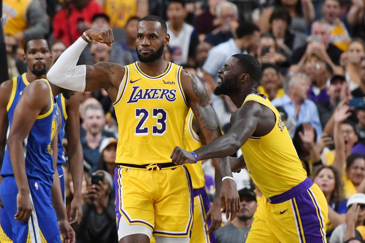ecd32876c3a4 LeBron James feels like the Lakers can compete with anyone with him on the  floor