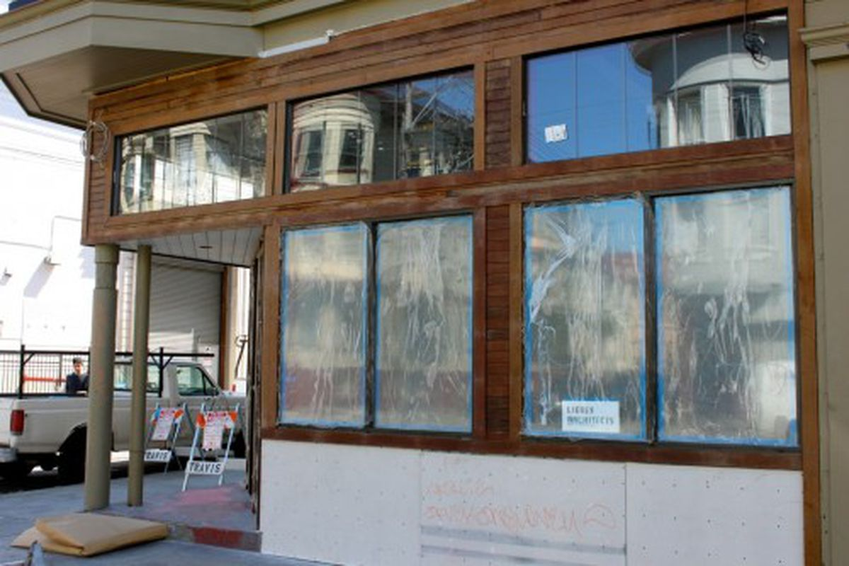 Ipe (ironwood) paneling outside never needs to be re-painted or cleaned.
