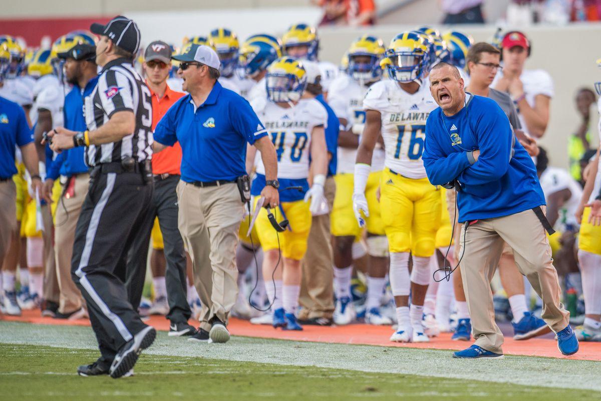 NCAA Football: Delaware at Virginia Tech