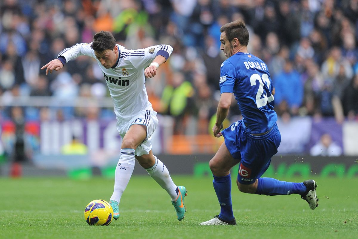 Real Madrid Vs Getafe La Liga 2013 Brilliant Second