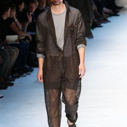 Since they should be wearing prison jumpsuits anyway—they are in jail, right?—here's a sheer one from Dolce&Gabbana.