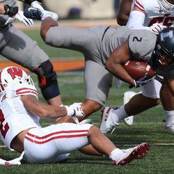 One of the bright spots for the Badgers defense in the first half of the 2019 season has been the emergence of Reggie Pearson Jr. Pearson had five tackles and broke up two passes vs Illinois. A sign of his ability to tackle in space: for this game he tied for the team lead in solo tackles with four.