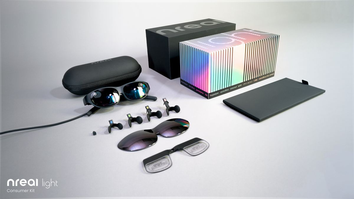 Nreal Light glasses consumer bundle