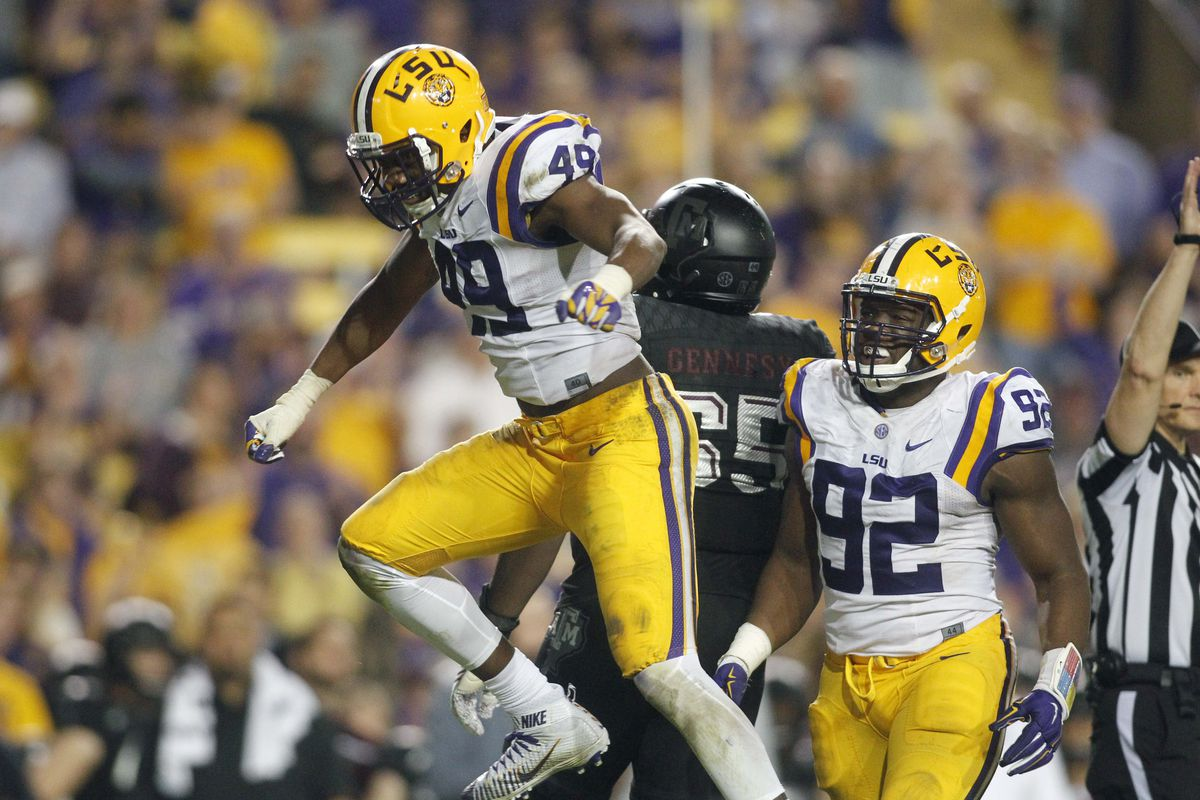 Arden Key Returns To LSU Football After Shoulder Surgery