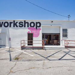This 7000 square foot workshop is located just behind the store.