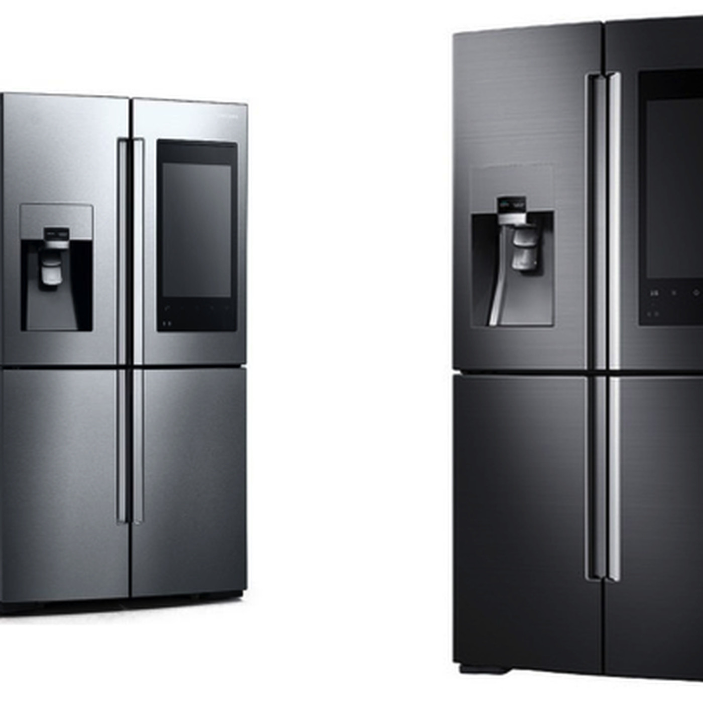 Samsung S New Fridge Can Order Fresh Direct Groceries From Its Humongous Touchscreen The Verge