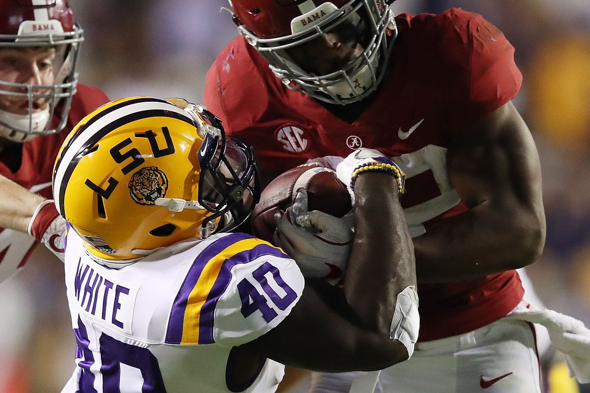 best loved 956ca 8e39a 2019 NFL Draft Profile: Devin White could be a versatile ...
