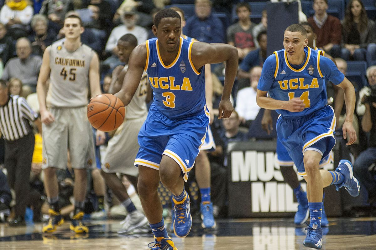 Jordan Adams kept his foot on the pedal during UCLA's win.