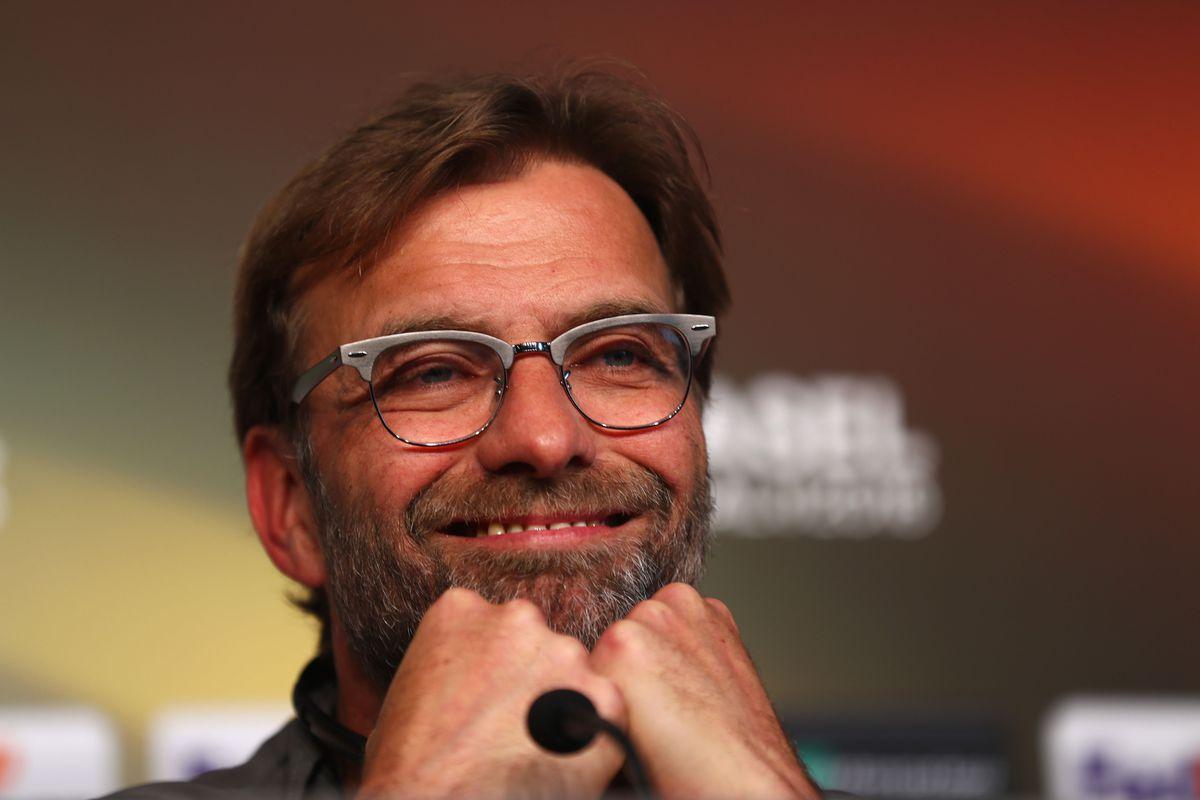 Liverpool Press Conference - UEFA Europa League Final