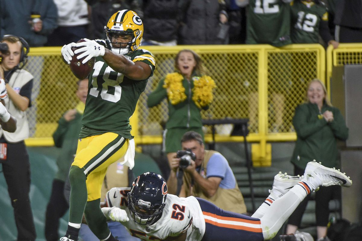 Hot Packers' Top Plays of 2018, #1: Randall Cobb's 75 yard score  for cheap