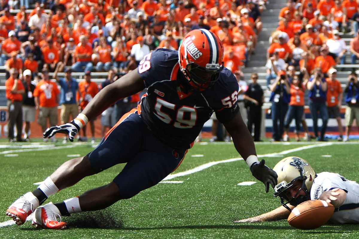 Tim Kynard will have to lead the DL this season