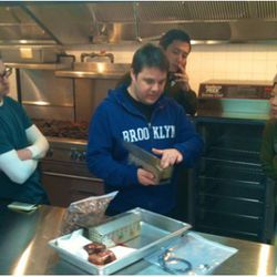 """And just for fun, here's Char No. 4's Matt Greco giving smoker tips at The Dutch (<a href=""""http://andrewcarmellini.com/2011/04/smoker-lesson-with-best-smoke-guy-in-town-matt-grecco/"""" rel=""""nofollow"""">AndrewCarmellini.com</a>)."""