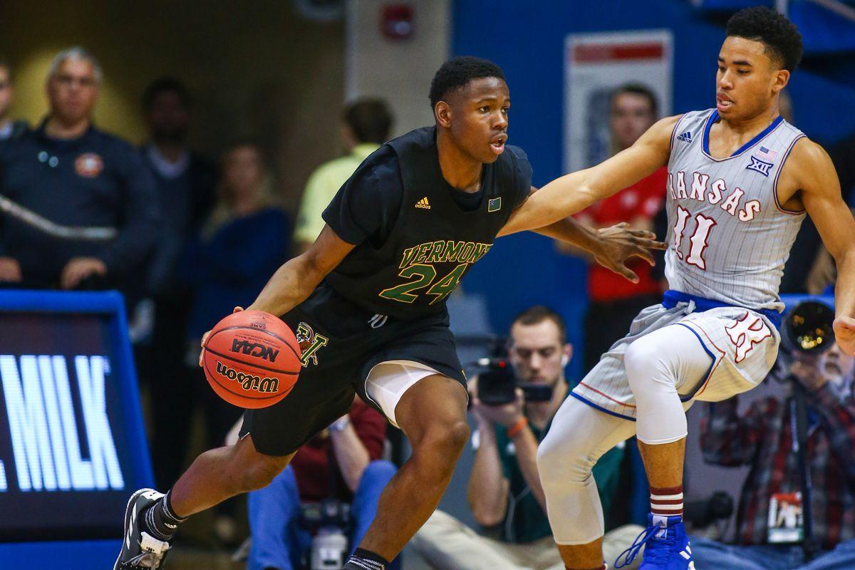 NCAA Basketball: Vermont at Kansas
