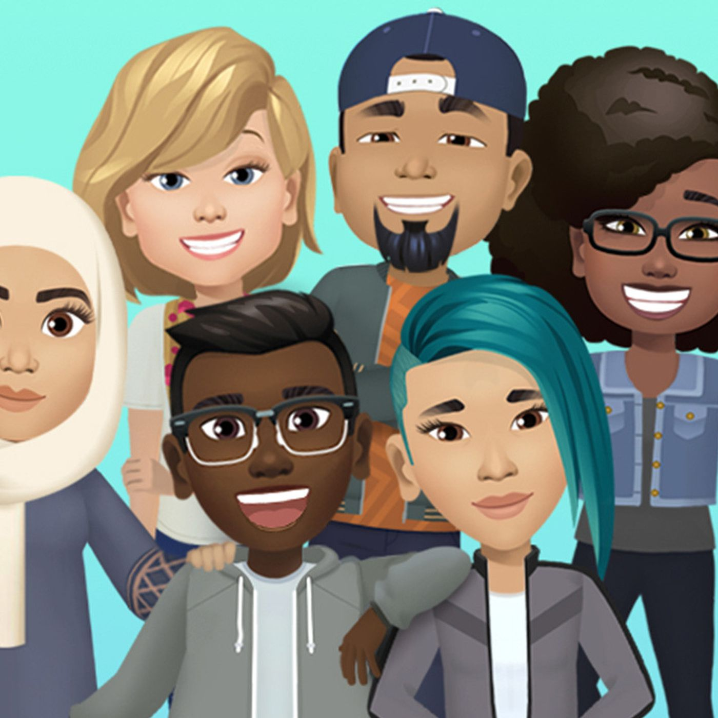 Facebook launches its Bitmoji-like avatars in the US - The Verge