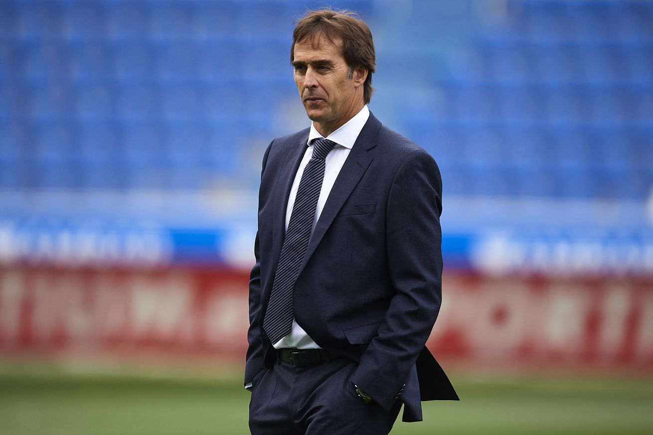 Lopetegui: ?I feel backed by the club, absolutely?