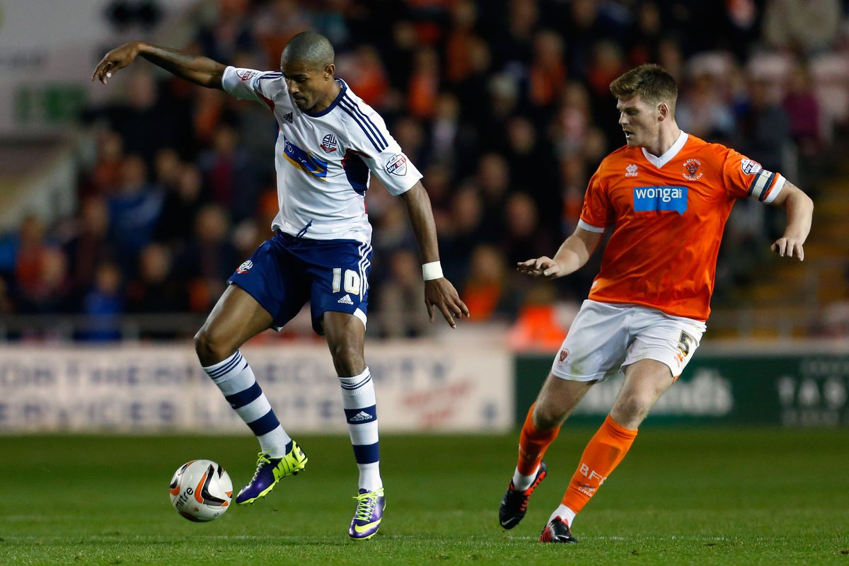 Jermaine Beckford: not playing like a man possessed.