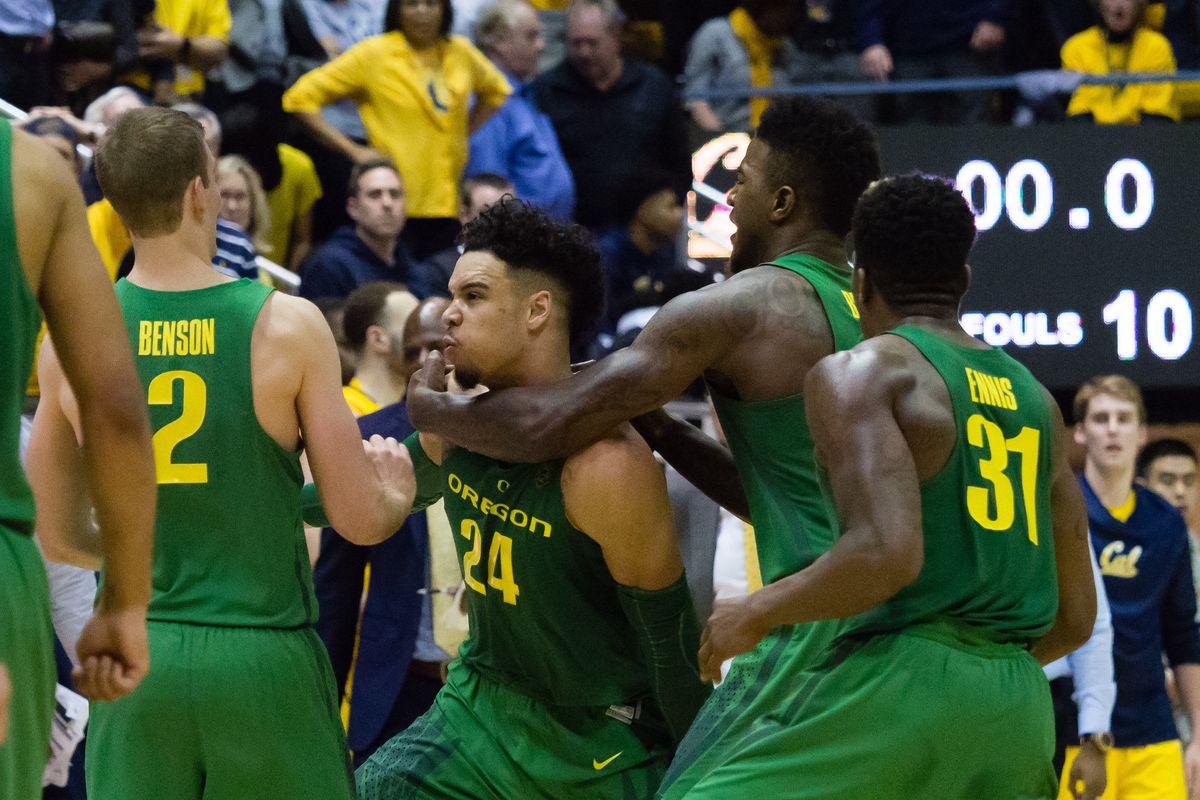 NCAA Basketball: Oregon at California