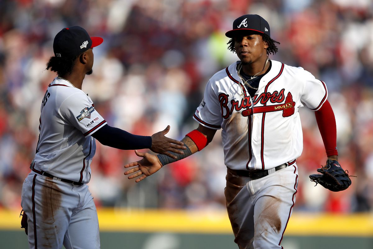 Divisional Series - St Louis Cardinals v Atlanta Braves - Game One