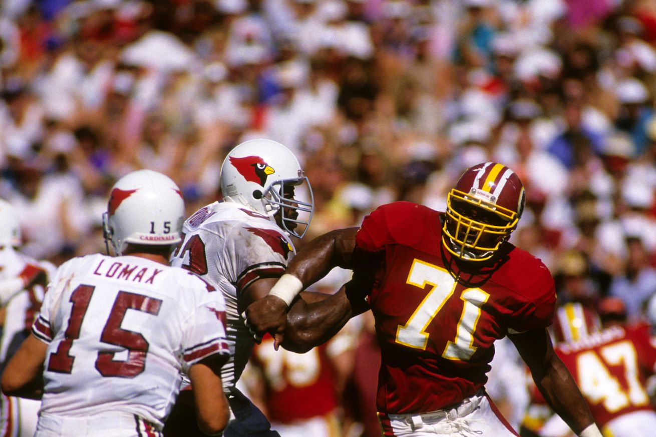 Redskins by the (Jersey) Numbers: #71 - A Two-Horse Race