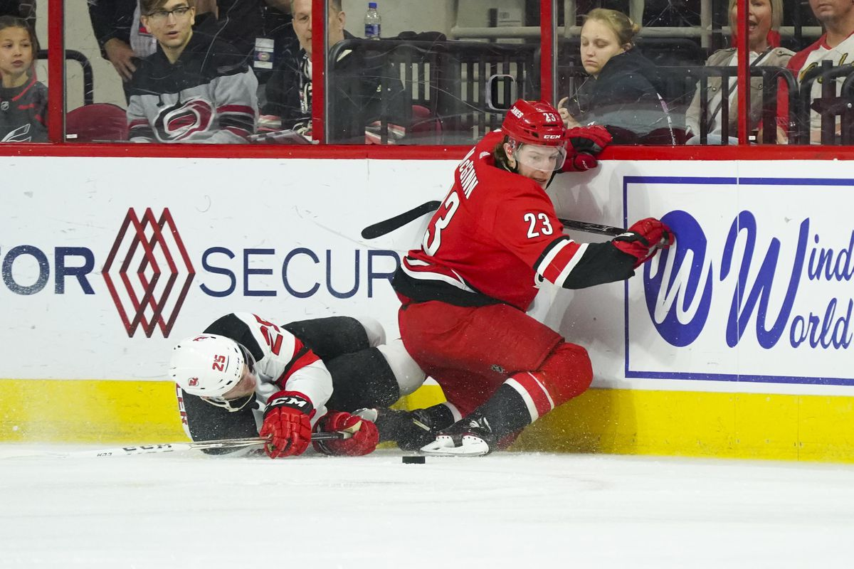 0099c52e4 No Spoilers: New Jersey Devils Beaten 1-3 by Playoff-Bound Carolina  Hurricanes