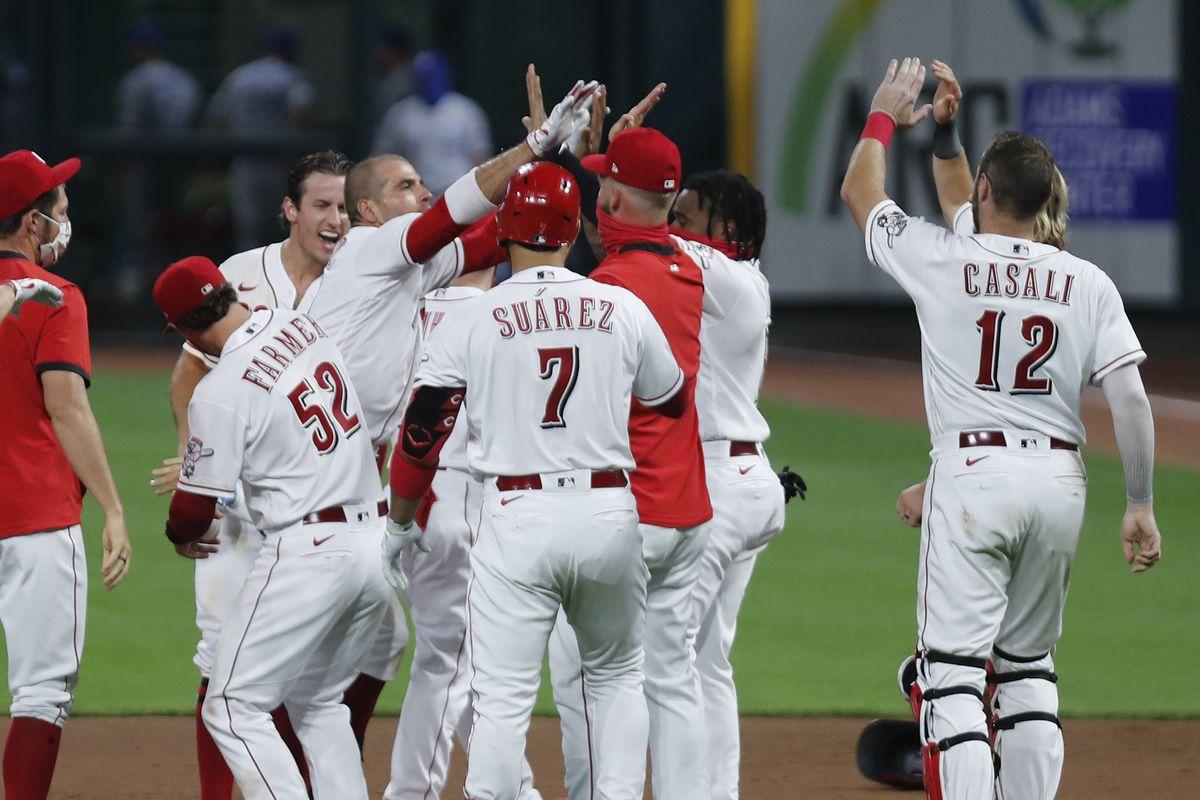 MLB: Kansas City Royals at Cincinnati Reds