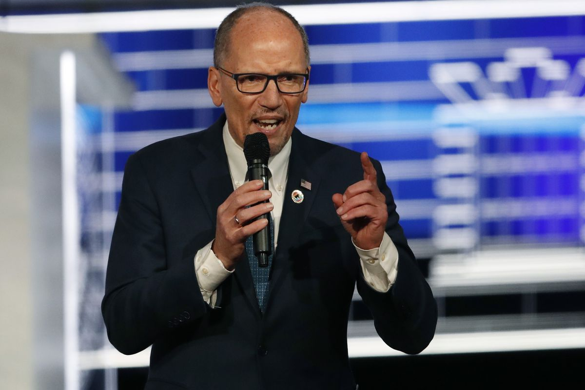 Chair of the Democratic National Committee, Tom Perez. File Photo.