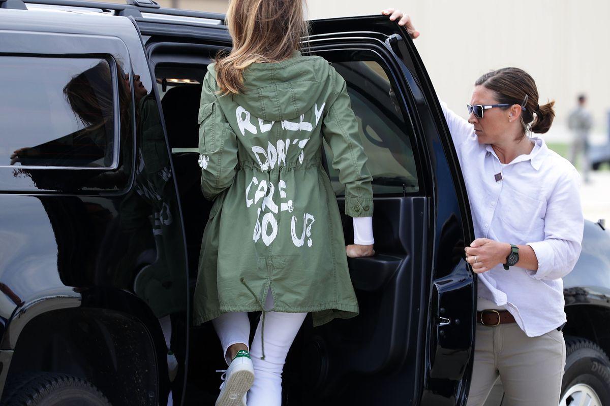 Melania Trump On June   Photo Chip Somodevilla Getty Images