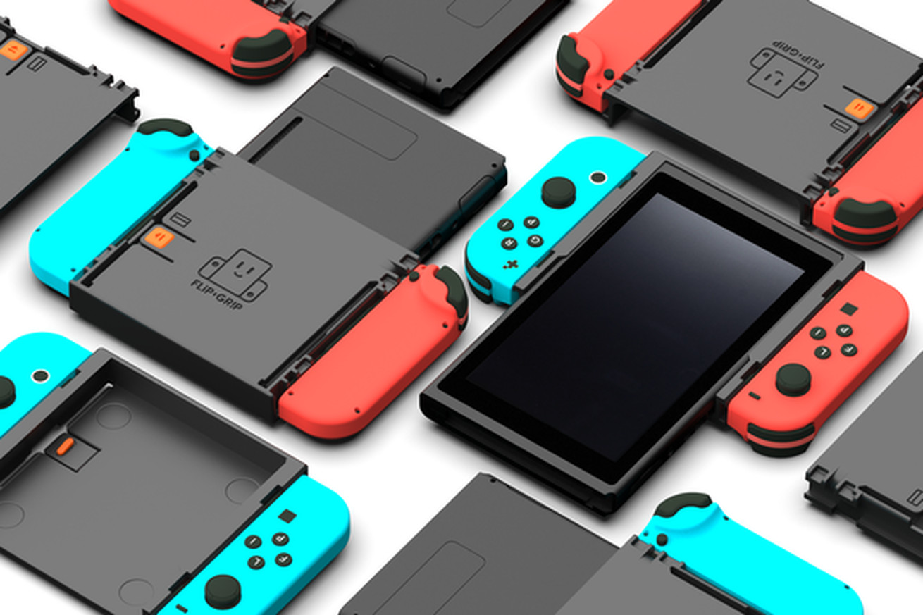 this nintendo switch accessory lets you play classic arcade games vertically