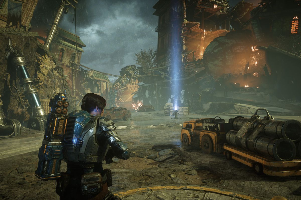 Gears 5 Act 4 – Chapter 1 Homefront collectibles guide