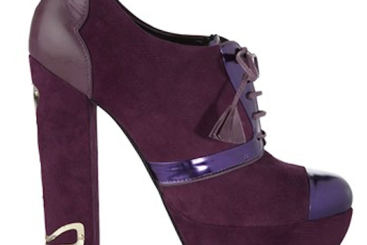 """But don't you step on my purple suede shoes. Image via <a href=""""http://www.vogue.co.uk/news/2011/10/06/biba-launches-shoe-collection"""">Vogue UK</a>"""