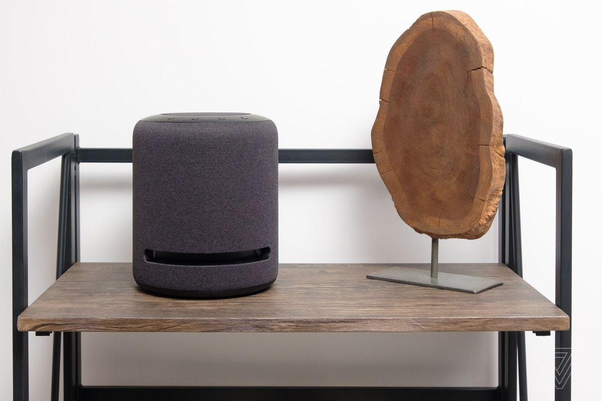 Amazon S New Echo Studio Sounds Like The Future Of Smart Speakers The Verge