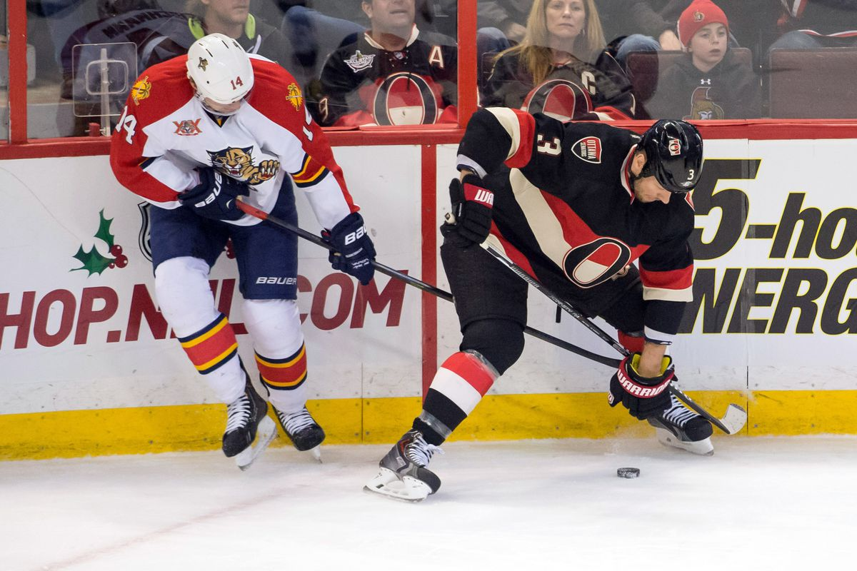 Ottawa, sporting the league's best look here, comes to town on Tuesday.