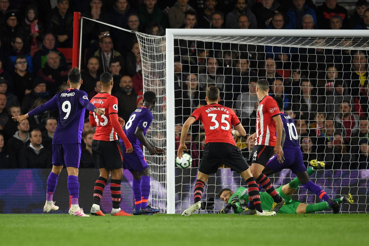 Naby Keita's goal for Liverpool against Southampton would have stood even if VAR was there, despite Mo Salah being offside.