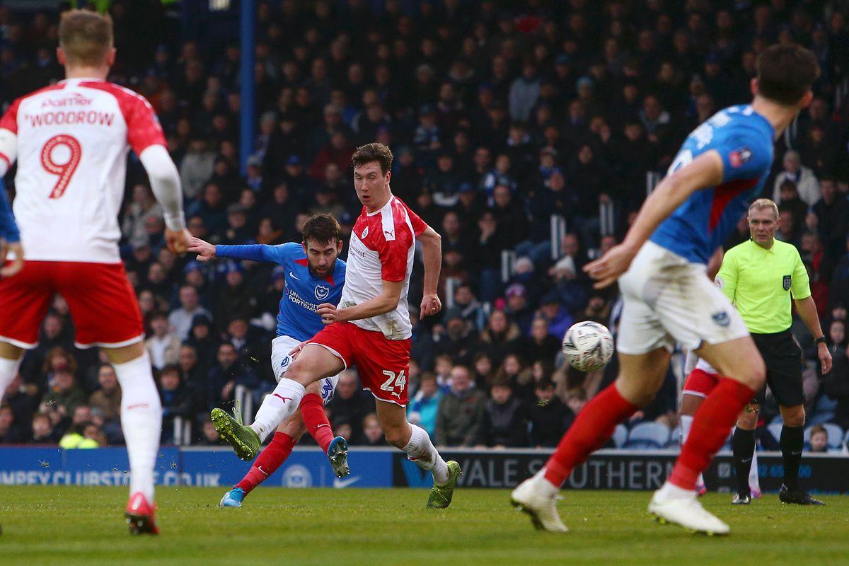 Portsmouth FC v Barnsley FC - FA Cup Fourth Round