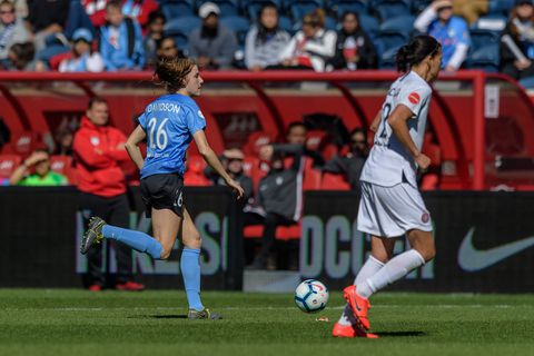 From astronaut to USWNT, Red Stars' Tierna Davidson has