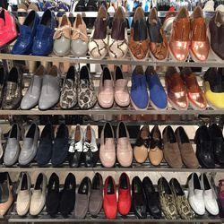 Sample loafers and oxfords, $75