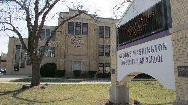 George Washington High School.