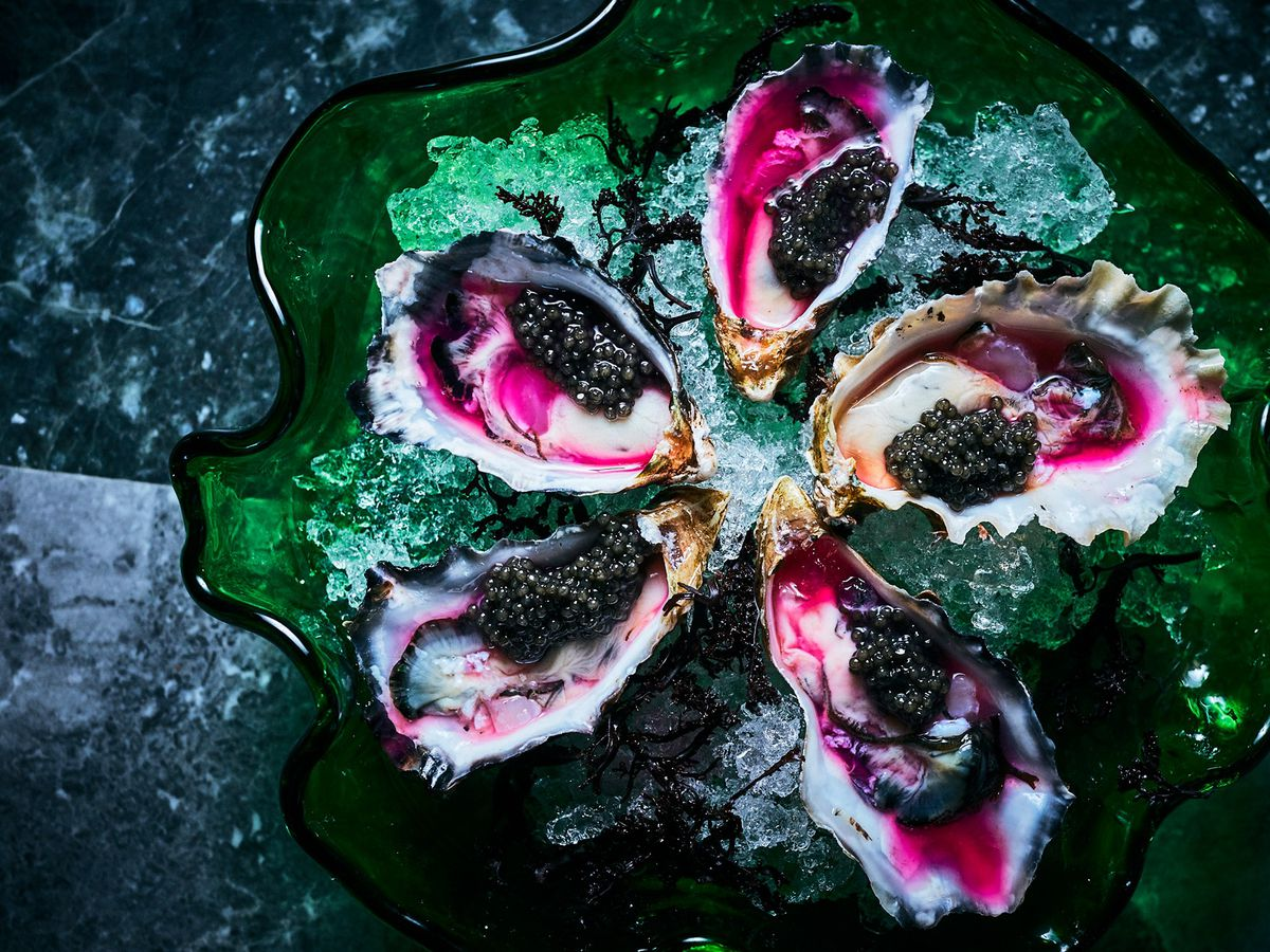 Oysters at Palette